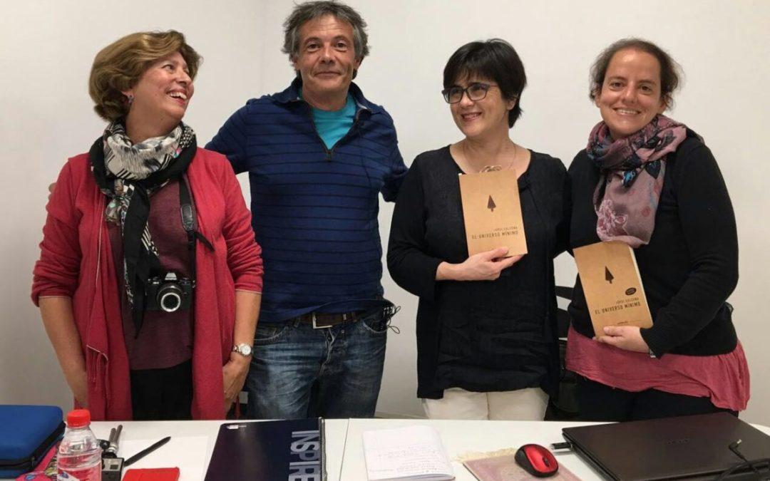 Jordi Solsona, autor del «Universo Mínimo» mañana lunes 3 de abril en La Ranilla Arte Cultura de Puerto de la Cruz.