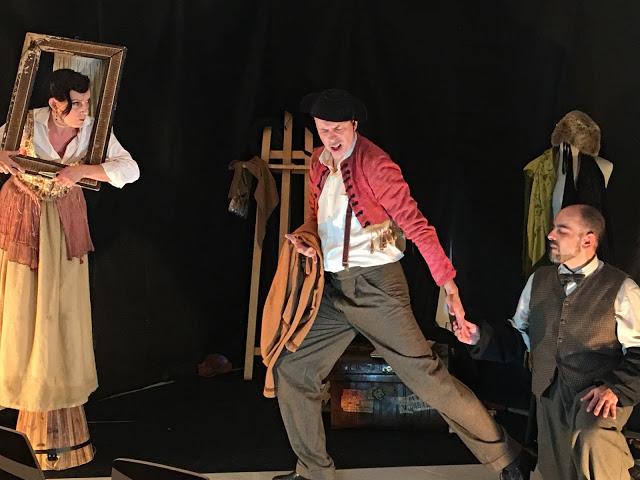 Emotiva y exitosa la actuación del Teatro del Finikito en La Ranilla Arte Cultura de Puerto de la Cruz
