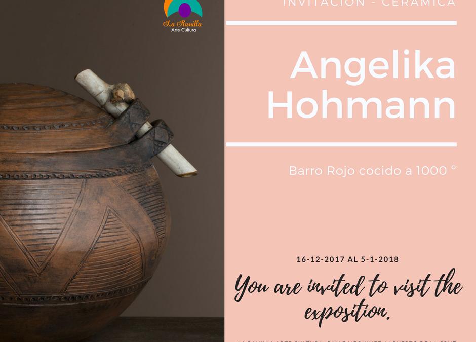 ANGELIKA HOHMAAN, en La Ranilla Arte Cultura a partir del 16 de Diciembre 2017