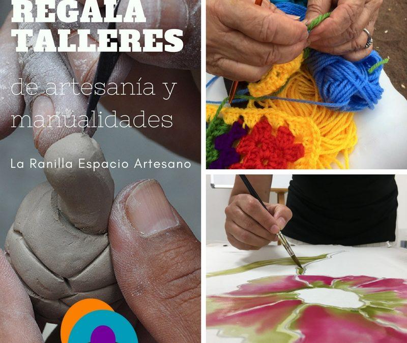 En estas navidades regala Salud: Bonos de talleres de artesanía y manualidades.