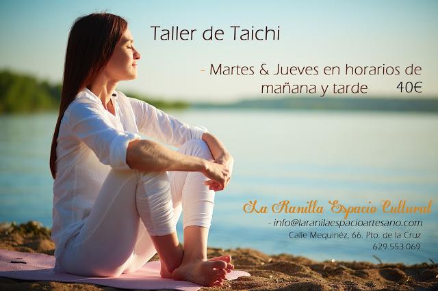 Taller de Taichi. La Ranilla Espacio Artesano