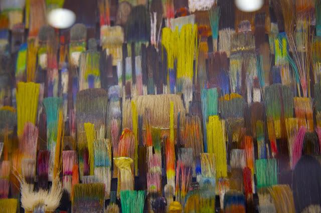 «La metamorfosis de los pinceles y paisajes mediáticos» de los artistas Fé Kolb y Jo Teh, inaugurada ya el pasado 1 de Octubre en La Ranilla Arte Cultura.