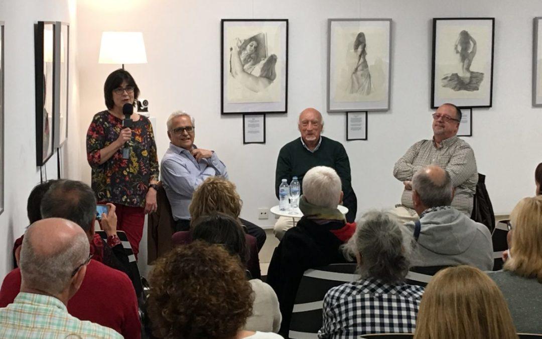 Resumen del encuentro mantenido con Manuel Vicent y Juan Cruz en La Ranilla Arte Cultura