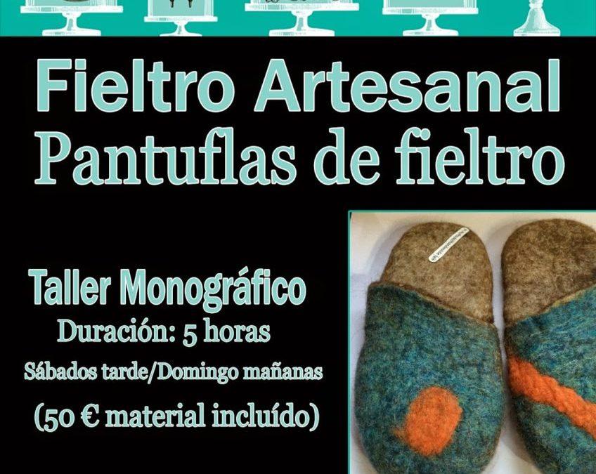 Talleres FIELTRO ARTESANAL. María Hurtado Ripoll (Técnica Superior en Patronaje)