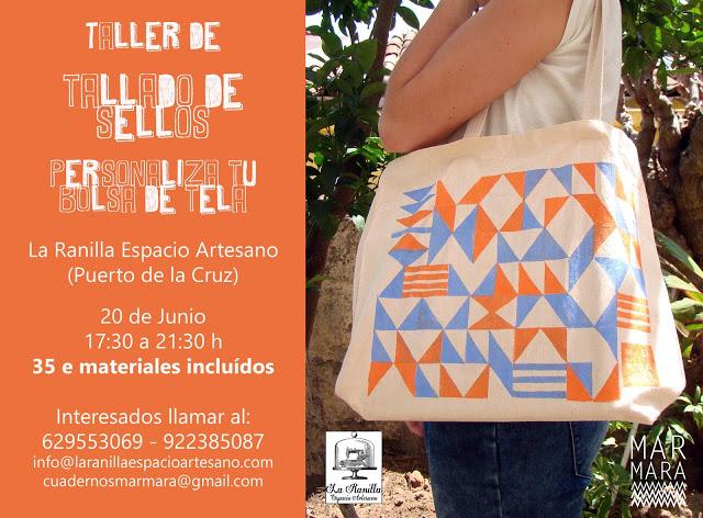 Taller de Carvado (Tallado) de Sellos. Sábado 20 de Junio en La Ranilla Espacio Artesano.