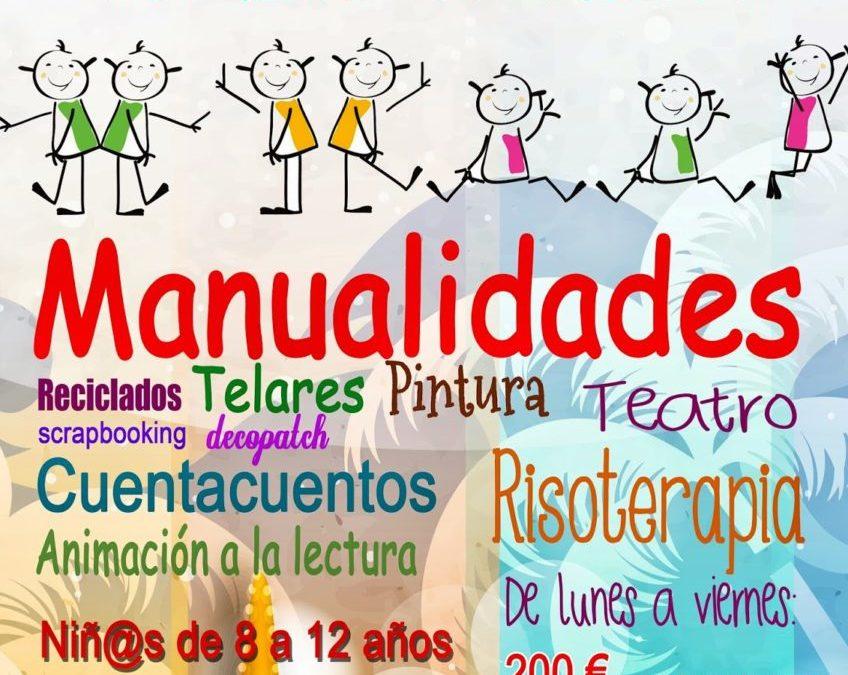 Taller de verano creativo en LA RANILLA ESPACIO ARTESANO. Niños entre 8 y 12 años