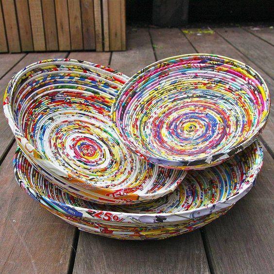 Taller de cestería de papel. Sábado 20 de octubre