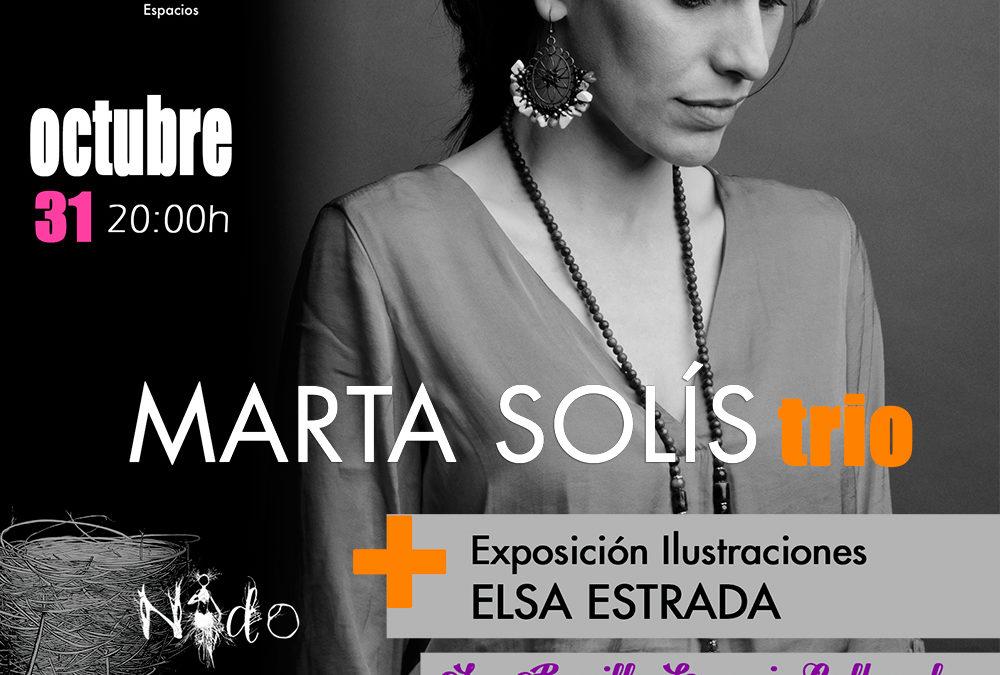 La cantautora Marta Solís desplegará su talento en La Ranilla Espacio Cultural el 31 de octubre