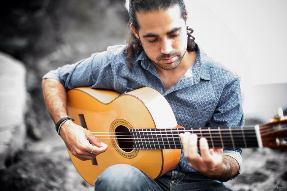 El guitarrista David Minguillón actuará el viernes 22 de febrero en La Ranilla Espacio Cultural