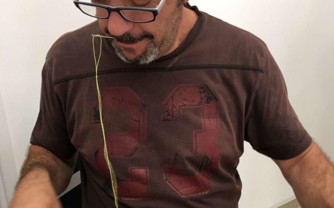 Clases de roseta canaria todos los lunes en La Ranilla Espacio Cultural. Imparte el maestro rosetero Antonio Rodríguez
