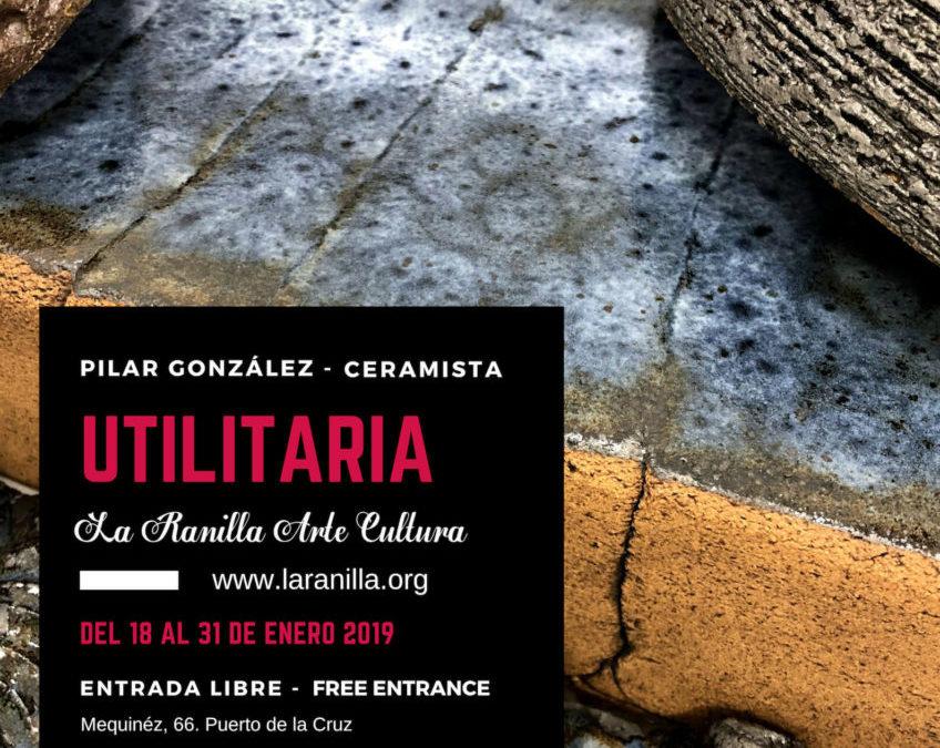 «Utilitaria» de la artista Pilar González «Jícara». Una muestra de cerámica enfocada a la gastronomía a partir del próximo día 18 en La Ranilla Espacio Cultural