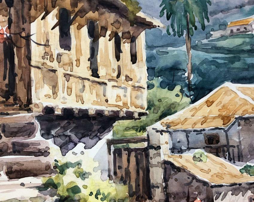 """""""Agua y pigmentos"""" una muestra de acuarelas con temática canaria del pintor Pedro Rodríguez en La Ranilla Espacio Cultural hasta el 31 de enero"""
