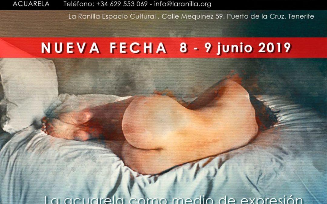 Taller intensivo de acuarela en La Ranilla Espacio Cultural. Imparte el artista Celestino Mesa