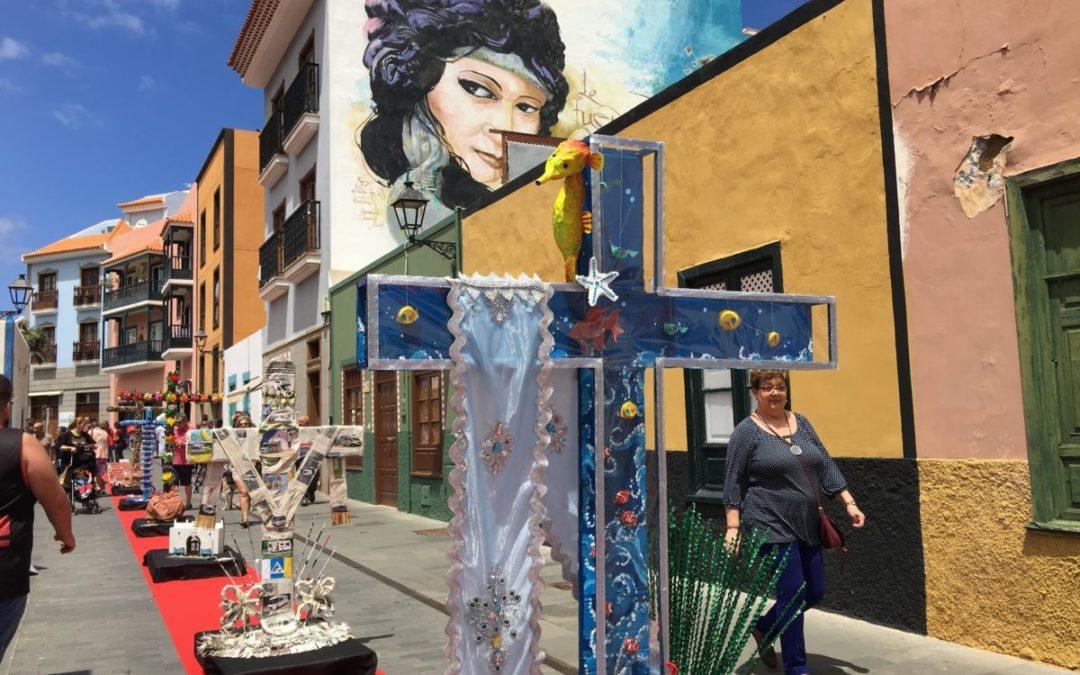 CruzArt 2019. Bases de participación para la exposición de cruces con material reciclado con motivo de las Fiestas Fundacionales de Puerto de la Cruz.