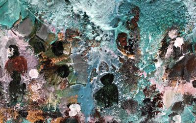 «Caminantes» colección de acrílicos del pintor sevillano afincado en Puerto de la Cruz, Pedro Bellido continuará abierta hasta 29 de Junio 2019