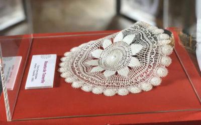 Las rosetas, fondo del Museo de Artesanía Iberoamericana de Tenerife, han cautivado durante todo el fin de semana a turistas y residentes en Casa Miranda de Puerto de la Cruz