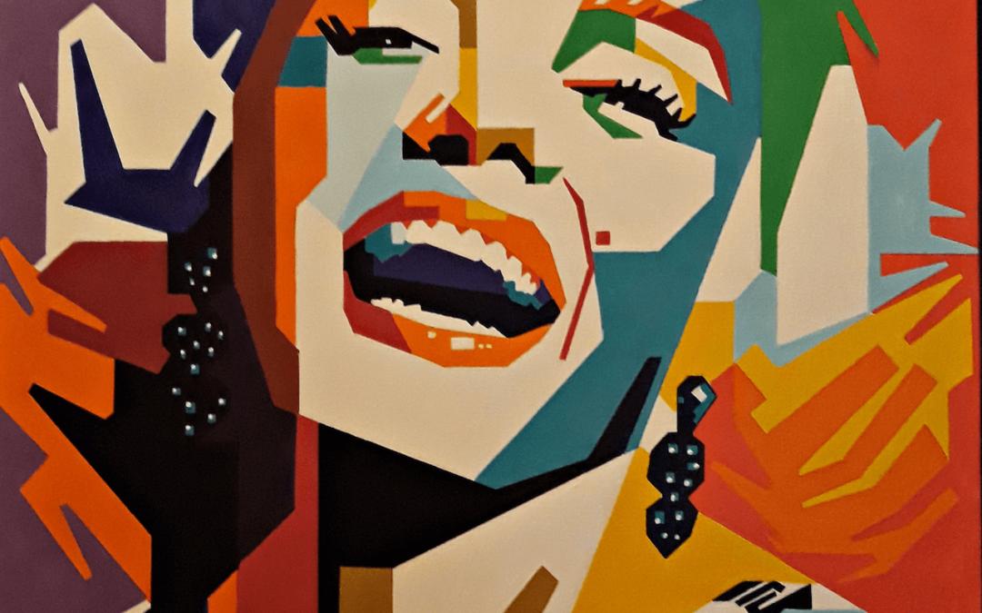 Vectores inspirados en cubismo y formas poligonales con José Emilio López