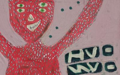 Halegna, el neón y las pinceladas fluorescentes de Ángela Maglioni en la Ranilla Espacio Cultural hasta el 31 de octubre 2019.