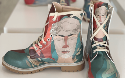 Los diseños veganos de bolsos y zapatos de la marca DOGO permanecerán durante esta campaña de Navidad en La Ranilla Espacios