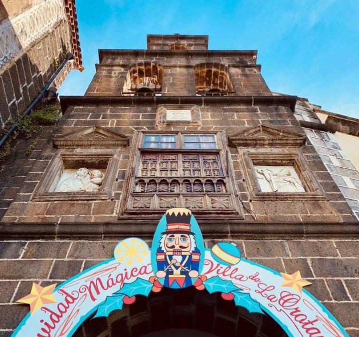 Feria de Navidad La Orotava 2019. Reserva de talleres gratuitos.