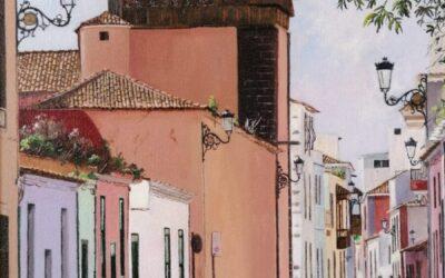 La obra pictórica de Carlos Egea. Exposición virtual de La Ranilla Espacios.