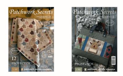 La Ranilla Espacios distribuye la primera revista dedicada de forma exclusiva al Patchwork en España, Patchwork Secret.