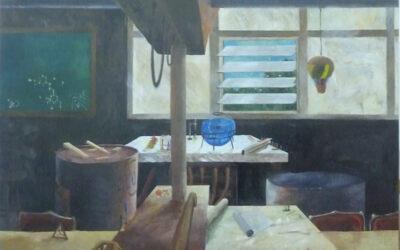 La obra del pintor y escenógrafo César Rodríguez Jaubert en La Ranilla Espacios.