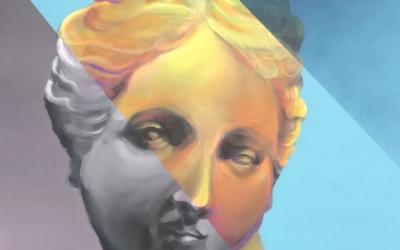 Pablo Falcón, artista plástico relacionado con el graffiti y la pintura mural, expone su obra en la tienda de la Ranilla Espacios