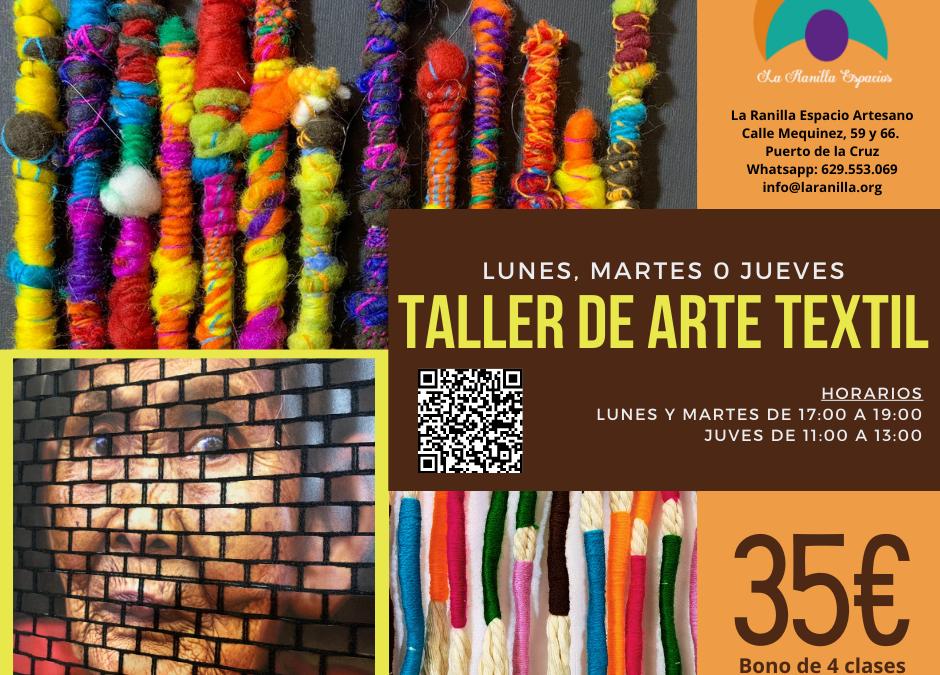 Consulta el amplio abanico de talleres de manualidades y artesanías que La Ranilla Espacio Artesano ofrece a partir de este mes de septiembre 2021.